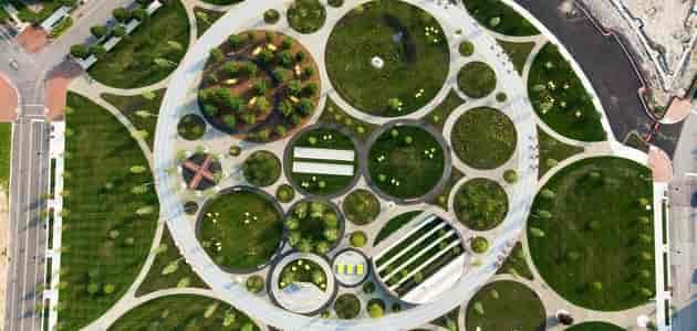 مخططات لاند سكيب dwg على الاوتوكاد Landscape Architecture DWG