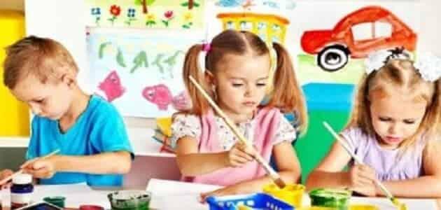 رسائل ماجستير رياض اطفال doc