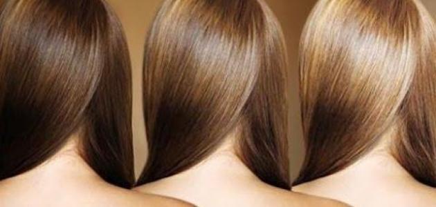 صبغة شعر طبيعية
