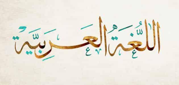 بحث عن اللغة العربية