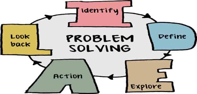 بحث عن حل المشكلات pdf